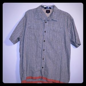 Tommy hilfiger linen/cotton short sleeve shirt